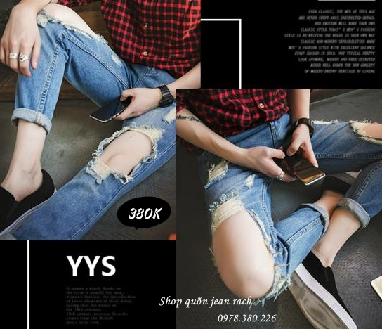 Phong cach quan jeans nam relaxed fits