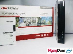 đầu ghi camera DS 7204HUHI F1 N 4 Kênh Chuẩn H.265 Pro.